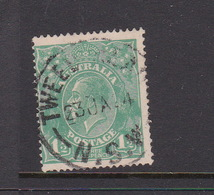 Australia SG 61 1923 King George V,Three Half Penny Green,Single Watermark, Used - 1913-36 George V : Têtes