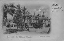 MONTE-CARLO- SOUVENIR ENTREE DU CASINO - Monte-Carlo