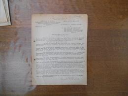 20 MARS 44 ETAT FRANCAIS COMMISSARIAT GENERAL D'ACTION SOCIALE POUR LES FRANCAIS TRAVAILLANT EN ALLEMAGNENOTE DE SERVICE - Historical Documents