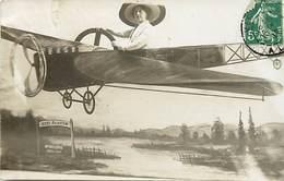 Ref X549- Carte Photo Decor Photographe - Vichy Aviation - Avion - Allier - Photographe - Photographie  - - Vichy