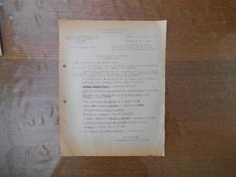 3 DECEMBRE 43 ETAT FRANCAIS COMMISSARIAT GENERAL A LA MAIN D'OEUVRE FRANCAISE EN ALLEMAGNE NOTE DE SERVICE J. DESMAREST - Historical Documents