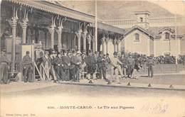 MONTE-CARLO- LE TIR AUX PIGEONS - Monte-Carlo