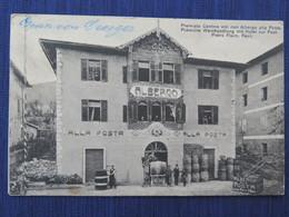 REVO - ALBERGO ALLA POSTA - PREMIATA CANTINA VINI CON ALBERGO ALLA POSTA - Viaggiata - Trento