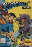 SUPERMAN POCHE N° 61 BE 1982  FRAIS DE PORT EN PLUS - Petit Format