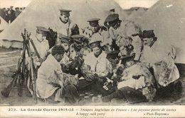 TROUPES ANGLAISES EN FRANCE - Oorlog 1914-18