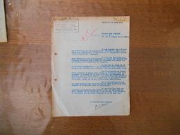 17 JUIN 1944  COMMISSARIAT GENERAL D'ACTION SOCIALE POUR LES FRANCAIS TRAVAILLANT EN ALLEMAGNE LILLE LE COMMISSAIRE REGI - Historical Documents
