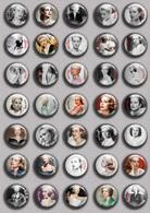 Grace Kelly Movie Film Fan ART BADGE BUTTON PIN SET  (1inch/25mm Diameter) 35 DIFF - Films