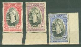 Tonga: 1938   20th Anniv Of Queen Salote's Accession      MH - Tonga (...-1970)