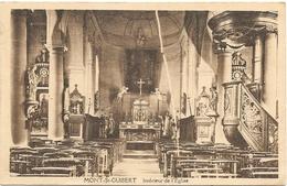 Mont-St-Guibert NA21: Intérieur De L'Eglise 1924 - Mont-Saint-Guibert
