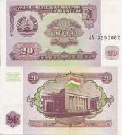 Tajikistan  P-4  20 Rubles  1994  UNC - Tadjikistan