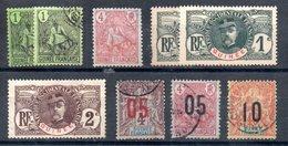 Guinée Französisch Guinea Y&T 18*, 18°, 20°, 33*, 33°, 34*, 49°, 53°, 56° - Used Stamps