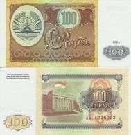 Tajikistan  P-6  100 Rubles  1994  UNC - Tadjikistan