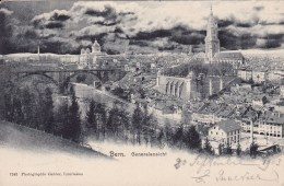 Bern Generalansicht Circulée En 1903 - BE Berne