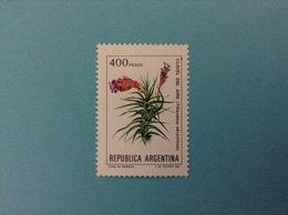 ARGENTINA FRANCOBOLLO NUOVO STAMP NEW MNH** FIORI PIANTE CLAVEL DEL AIRE 400 P - Argentina