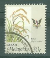 Malaya - Sabah: 1986/97   Food   SG465    30c   [Perf: 12]   Used - Sabah