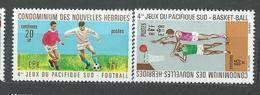 NOUVELLES_HEBRIDES  N°  308/09  **  TB  2 - French Legend
