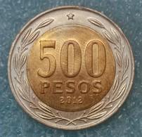 Chile 500 Pesos, 2012 - Chile