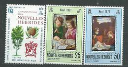 NOUVELLES_HEBRIDES  N°  312/15  **  TB  3 - French Legend