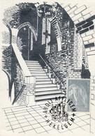 AFFLIGEM / ABDIJ / HEKELGEM  / MET POSTZEGEL EN STEMPEL 1965 - Affligem