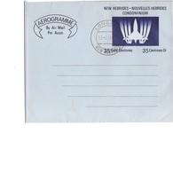 Aérogramme Oblitéré 1971 . - New Hebrides