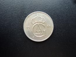 SUÈDE : 50 ORE   1964 U   KM 837     SUP - Suède