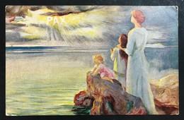 Pax VIAGGIATA 1916 COD.Bu.173 - Angeli