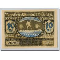 Billet, Allemagne, Volkstedt, 10 Pfennig, Ecusson, 1921, 1921-09-01, SPL - Other