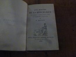 1880  LES MARINS DE LA RÉPUBLIQUE :  Le Vengeur - Combats De La Loire - La Bayonnaise - Trafalgar - ,   Par H. MOULIN - Books, Magazines, Comics
