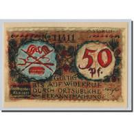 Billet, Allemagne, Volkstedt, 50 Pfennig, Objets, 1921, 1921-09-01, SPL - Other
