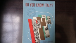 Do You Know Italy ?  The Anglo American Agency & Bank - Dépliants Touristiques