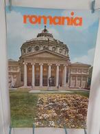 AFFICHE: ROMANIA    H 97,5  L  67,5 - Affiches