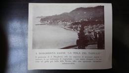 S. Margherita Ligure La Perla Del Tigullio Hotel Laurin - Dépliants Touristiques
