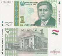 Tajikistan  P-14  1 Somoni  1999  UNC - Tadjikistan
