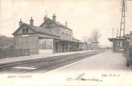 Amay - La Gare (Edit W B, Animée, Précurseur) - Amay