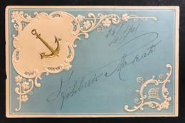 ANCORA VIAGGIATA 1901 CODICE BU.184 - Barche