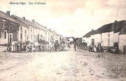 Meix-le-Tige - Rue D'Udange (top Animation, Attelages, Chevaux 1914, Imp. Willems) - Saint-Léger