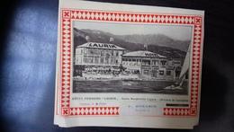 Hotel Pensione Laurin Santa Margherita Ligure Italia - Dépliants Touristiques