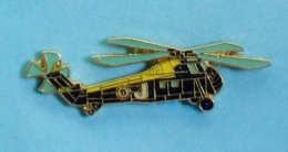 1 PIN'S //  ** HÉLICOPTÈRE / US SIKORSKY UH-34D SEAHORSE / CH-34C CHOCTAW ** . (J.Y. Ségalen Collection) - Airplanes