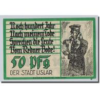 Billet, Allemagne, Uslan, 50 Pfennig, Personnage, O.D, SPL, Mehl:1355.2 - Other