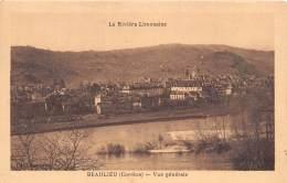 BEAULIEU Vue Generale 7(scan Recto-verso) MA1098 - Frankreich