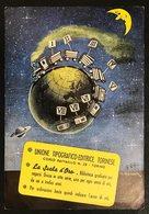 UNIONE TIPOGRAFICA-EDITRICE TORINESE VIAGGIATA 1953 CODICE Bu.186 - Pubblicitari