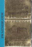 Matchbook.- Schlosswirtschaft Schattenburg – Feldkirch, Österreich. Pochette D'Allumettes. Lucifermapje - Luciferdozen