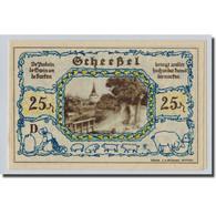 Billet, Allemagne, Scheebel, 25 Pfennig, Agriculture Et Industrie, 1921 - Other