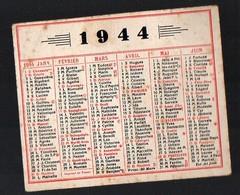 Petit Calendrier 1944 Non Publicitaire (PPP13836) - Calendars
