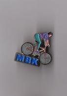 Pin's Vélo MBK (argenté Signé BI) - Cycling