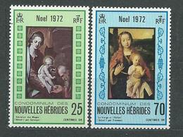 NOUVELLES-HEBRIDES  N°  350/51  **  TB  2 - French Legend