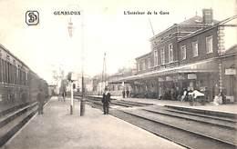 Gembloux - L'INtérieur De La Gare (animée, Edit. SD) - Gembloux