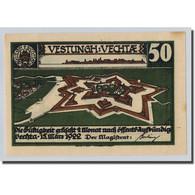 Billet, Allemagne, Vechta, 50 Pfennig, Personnage 1, 1922, 1922-03-15, SPL - Other