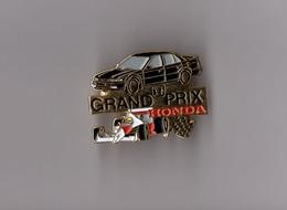 Pin's Sport Automobile / Grand Prix Honda (doré) - Honda