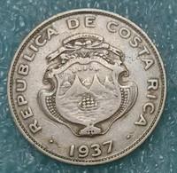 Costa Rica 25 Céntimos, 1937 - Costa Rica